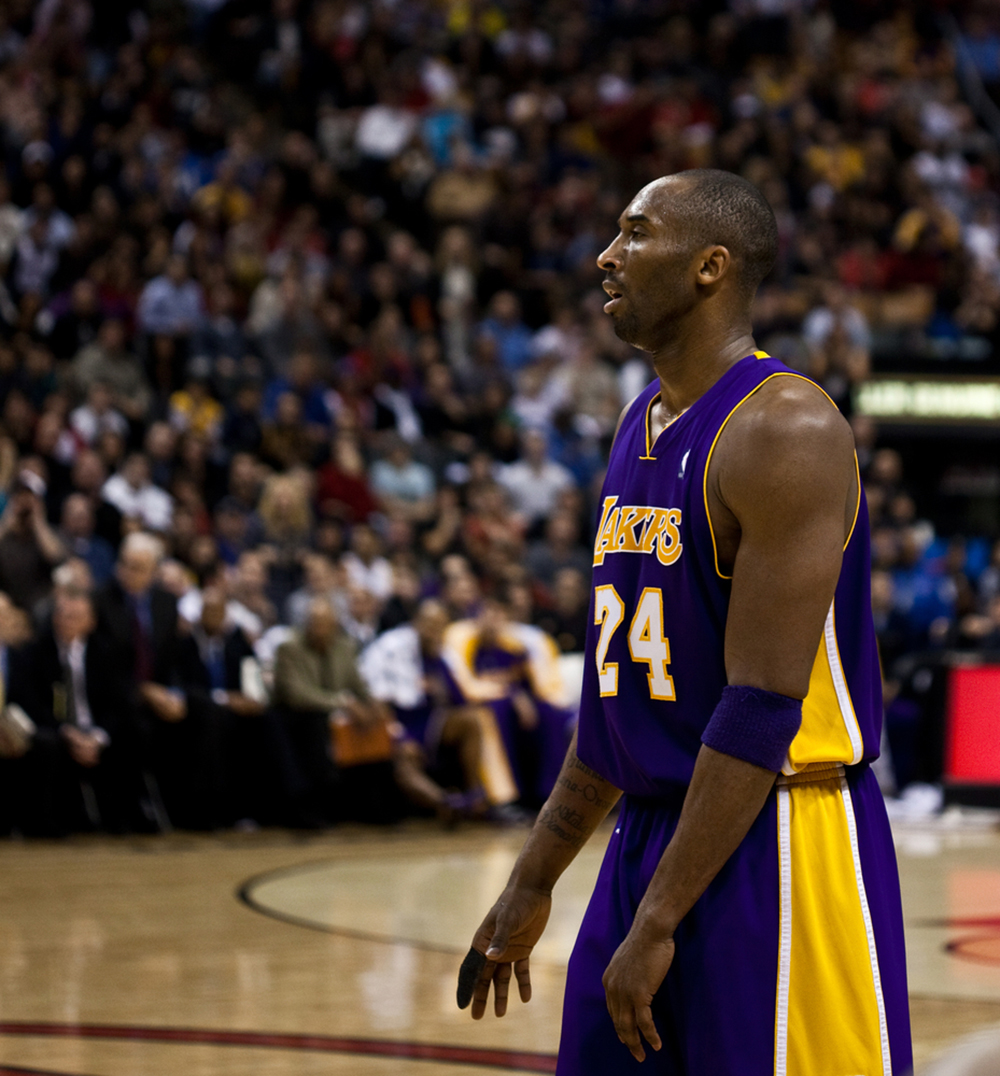 kobe bryant en viva basquet jugador de basquetbol
