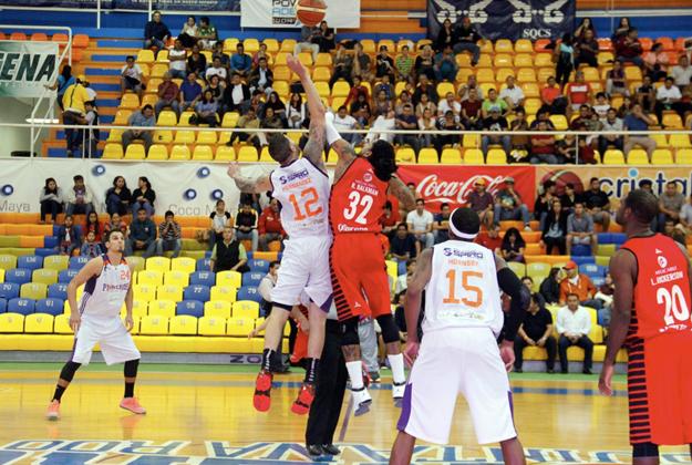 FOTO LNBP halcones rojos en viva basquet