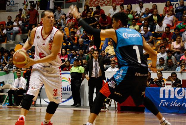 Halcones Rojos en viva basquet