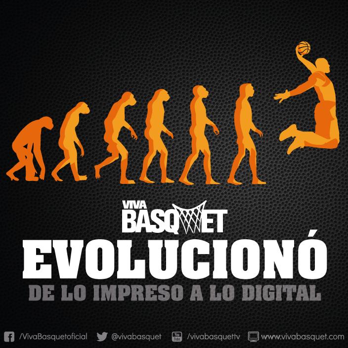 Viva Basquet evolucionó de lo impreso a lo digital.