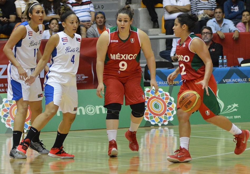 la seleccion femenil de basquetbol va a semifinales en centroamiericanos