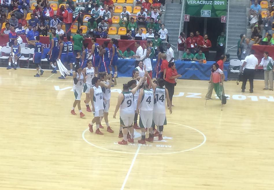 la Selección mexicana de Basquetbol Femenil se queda con el bronce en los centroamericanos por vivabasquet.com