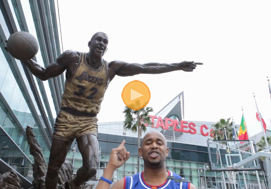 Los Globetrotters y su magia desde el Staples Center