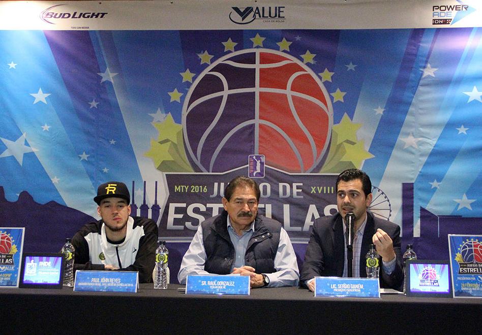 Monterrey será sede del Juego de Estrellas de la LNBP
