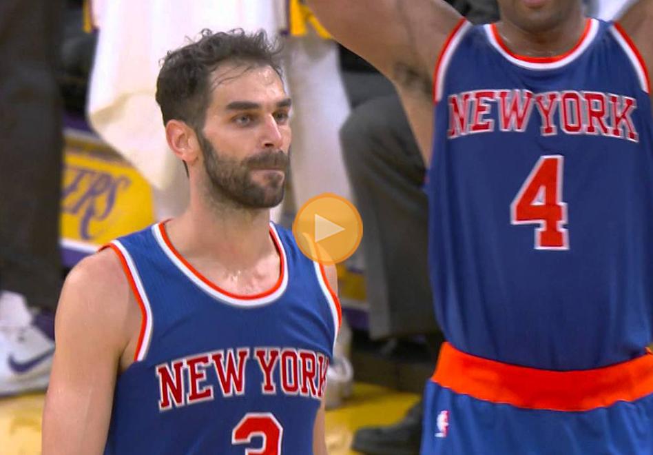 Calderón aniquiló a los Lakers en el último segundo