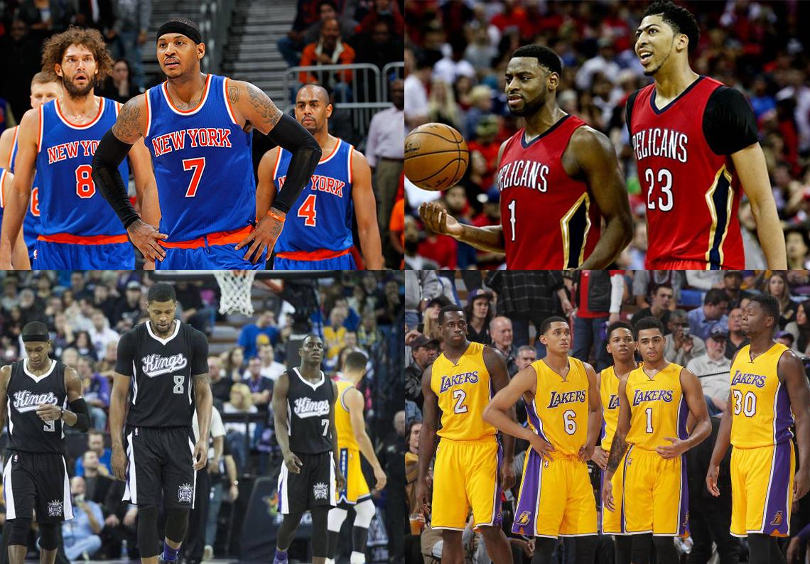 Las decepciones de la temporada en la NBA