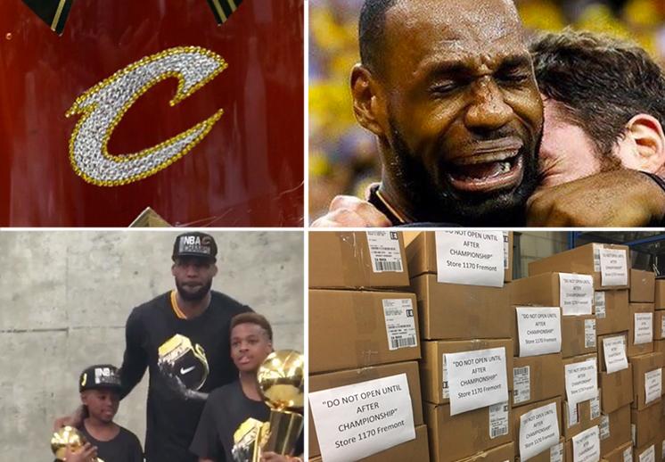 Festejos y reacciones del campeonato de los Cavaliers