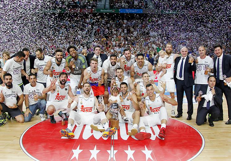 Gustavo Ayón y el Madrid son bicampeones en la Liga Endesa