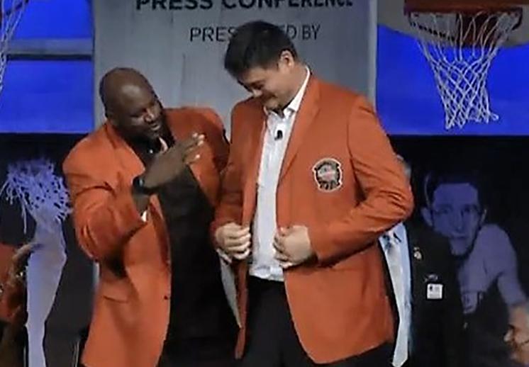 Yao, Iverson y Shaq listos para ingresar al Salón de la Fama