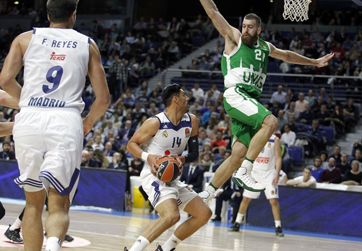 El Real Madrid sigue con buen paso en la Euroleague