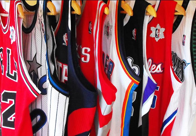thumbnail. Los uniformes de la NBA con nuevo patrocinador para 2017