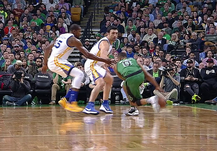 La conexión Curry-Durant hace estragos en Boston