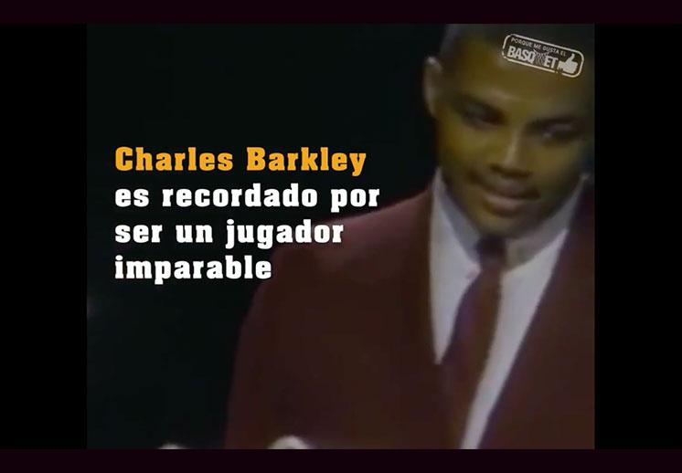 Para Charles Barkley rendirse nunca fue opción