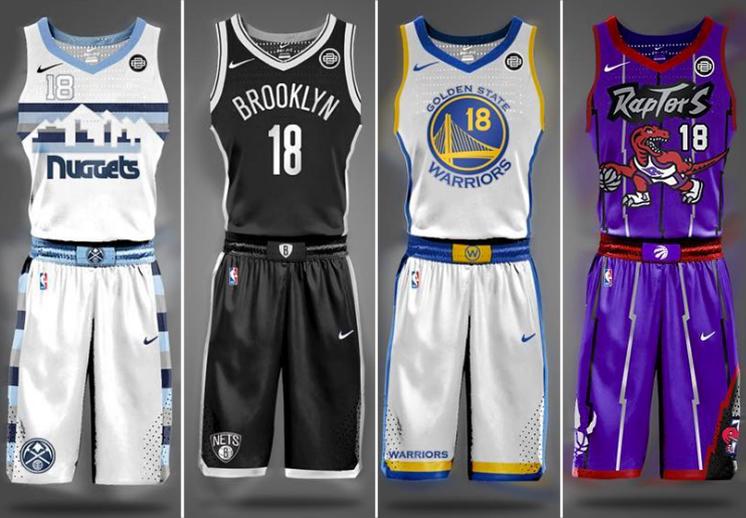 829c8c79833 Los uniformes de la NBA según Brian Begley