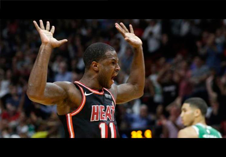 El Heat acabó con la racha de Celtics