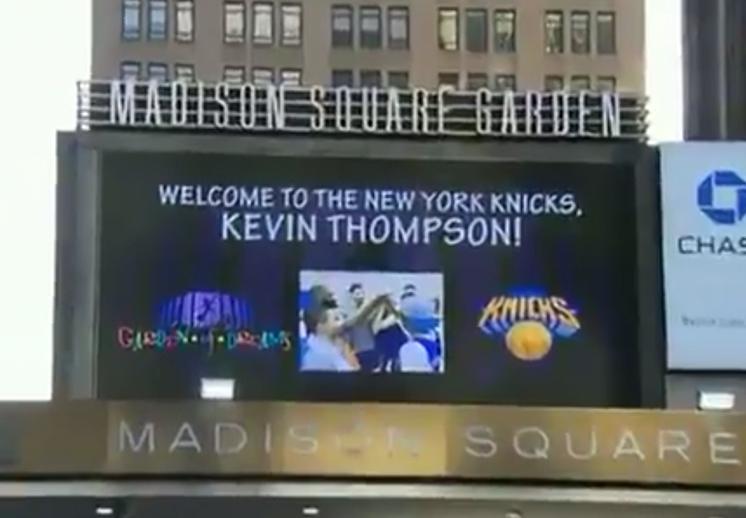 Los Knicks presentaron a su nueva estrella
