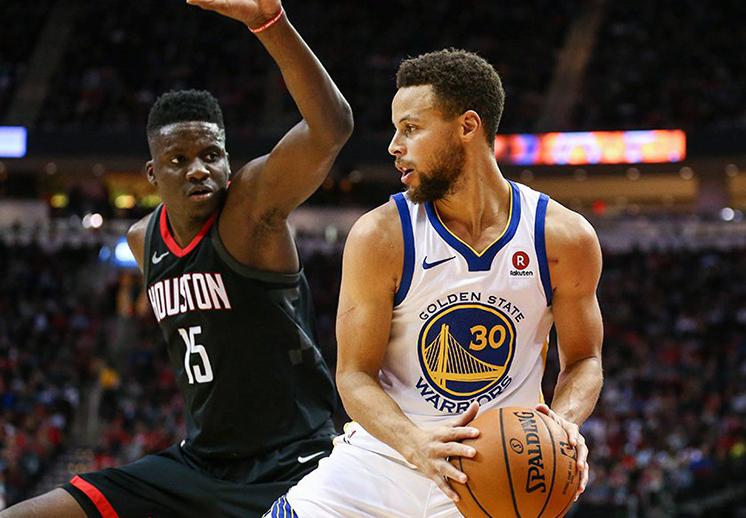 Rockets y Warriors dieron una probadita de los Playoffs