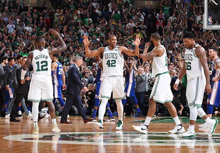 Los Celtics sacaron la casta y defendieron el TD Garden