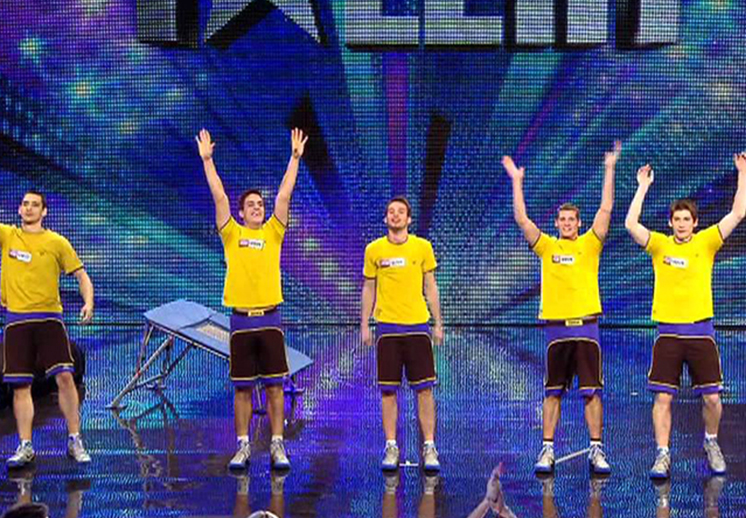 Basquetbol en Britain's Got Talent