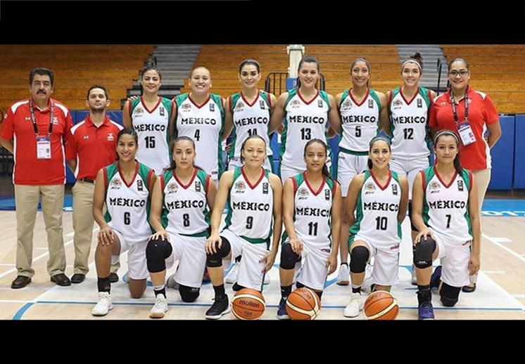 Las 12 Guerreras con miras al Centrobasket 18
