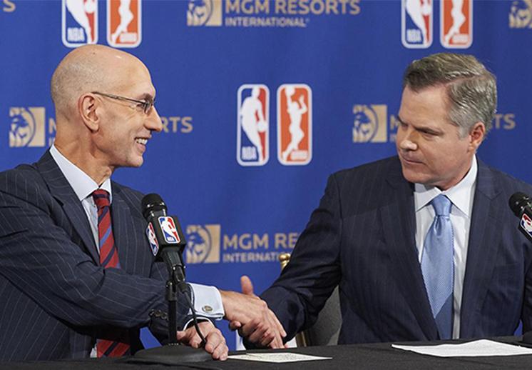 La NBA anunció patrocinio histórico