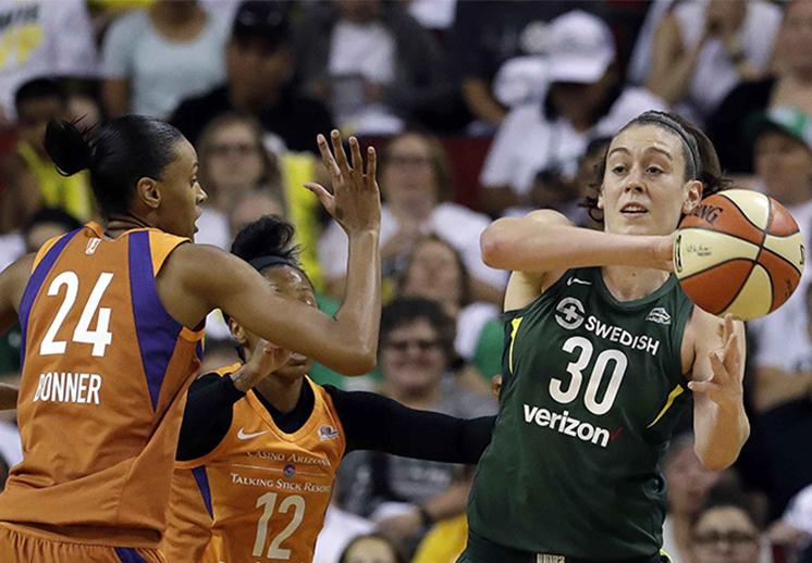 Canasteando edición las batallas de la WNBA