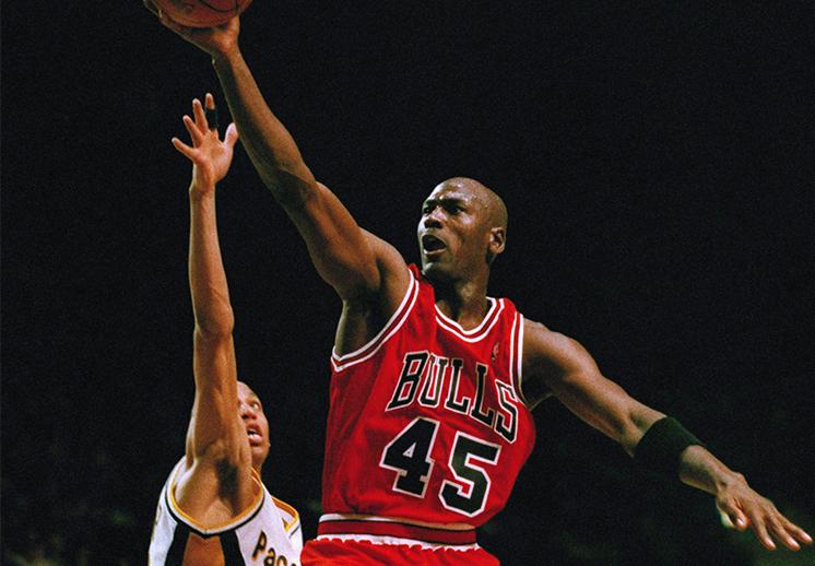Los números de Michael Jordan