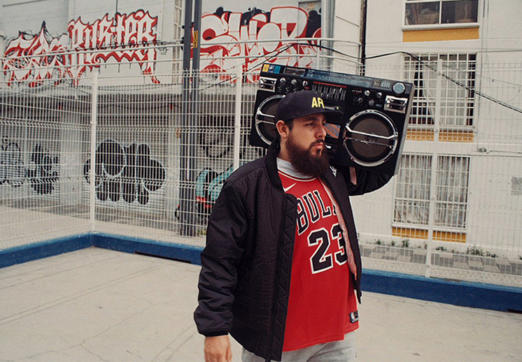 Danger, un rapero que le canta al basquetbol