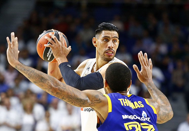 Real Madrid sigue con paso perfecto en Euroleague