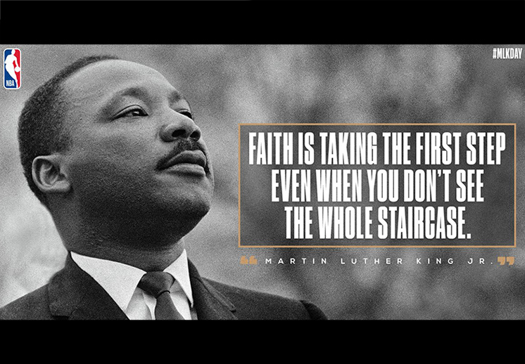 El legado de Martin Luther King Jr en la NBA