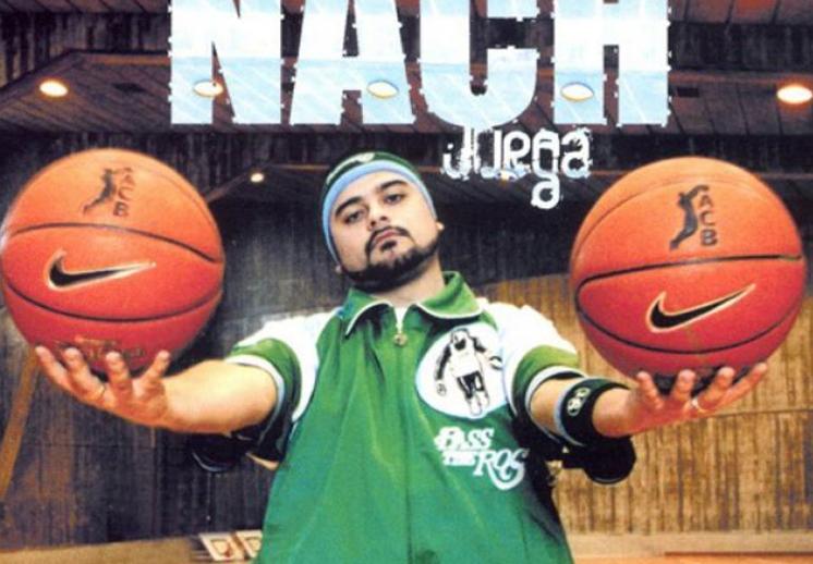 Nach, un rapero apasionado por el basquetbol