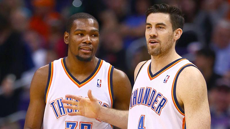 La reconciliación de Durant y el Thunder