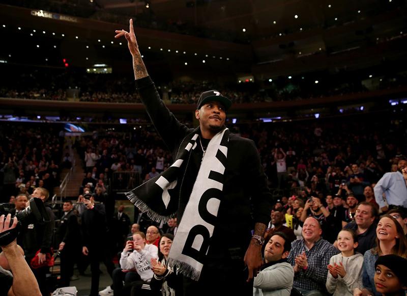 Melo de vuelta al Madison Square Garden