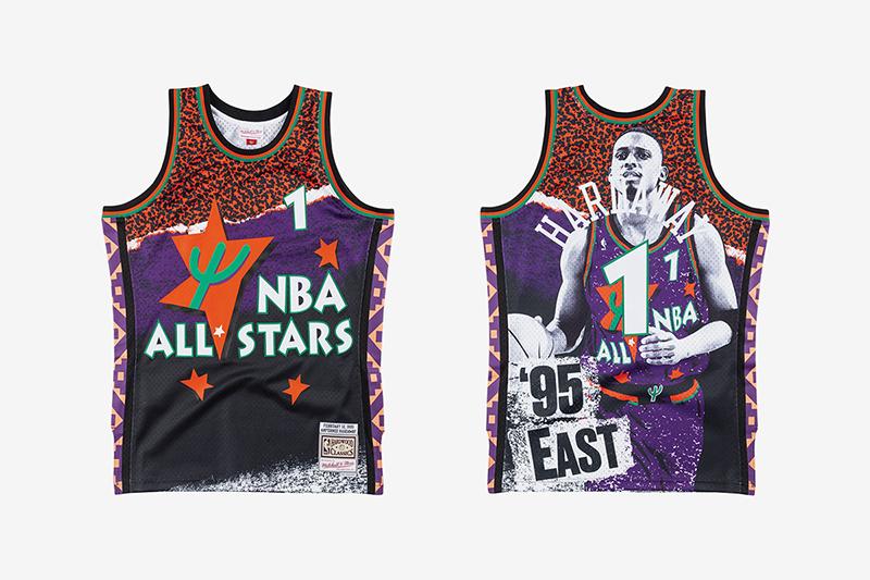Los uniformes que rinden tributo al Juego de Estrellas de la NBA