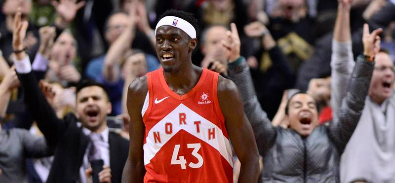 Pascal Siakam salvó a los Raptors