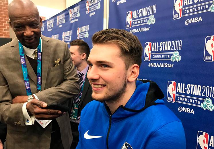 Luka Doncic y su primer NBA All-Star Weekend