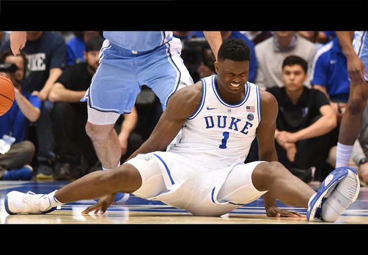 Terrible noche para los Blue Devils de Duke