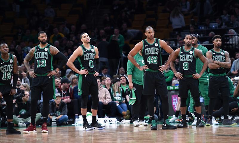 ¿Problemas en el vestidor de los Celtics?