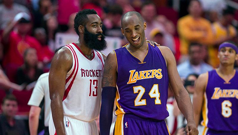 Kobe Bryant habló sobre los Rockets de Harden