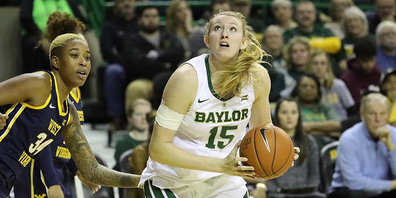 Baylor las favoritas en la NCAA Femenil