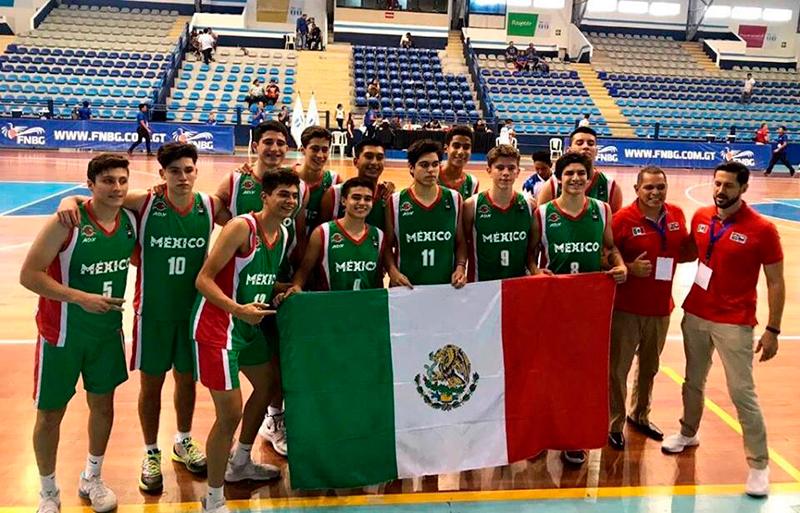 México arrasó en el COCABA U16