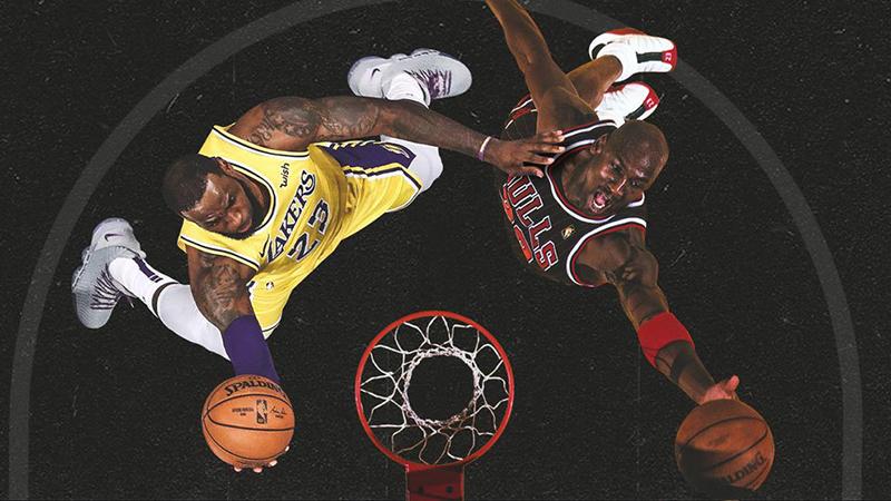 La curiosa historia que une a Michael Jordan y a LeBron James