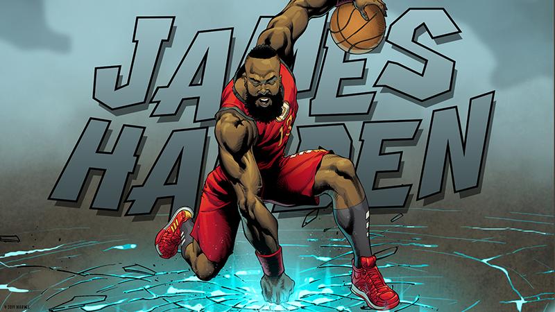 Una colaboración para los amantes del basquet y los comics