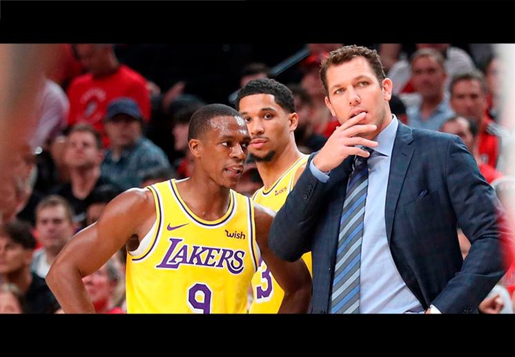 Los Lakers buscan coach, se fue Luke Walton