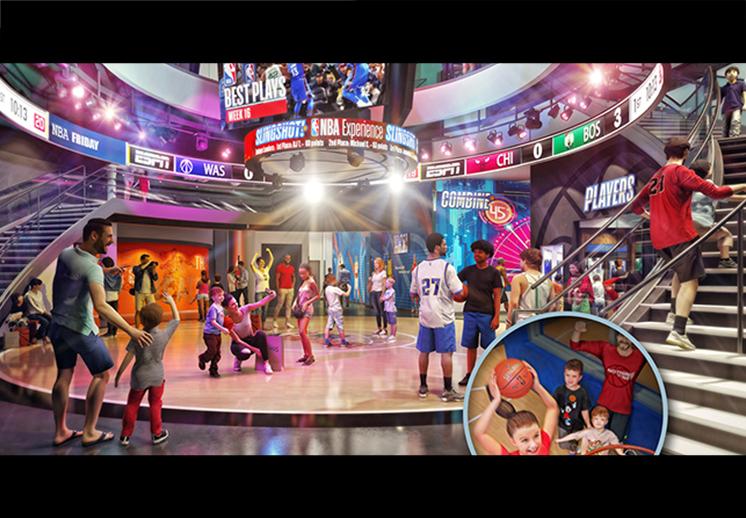 La experiencia NBA llega a Disney