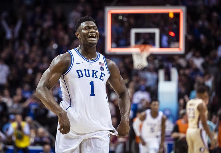 Zion Williamson ya espera equipo de NBA