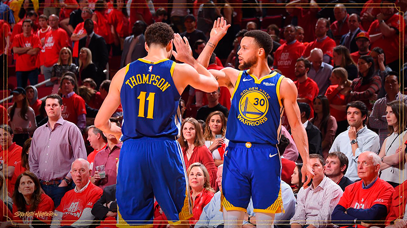Despertó Curry y los Warriors despidieron a los Rockets