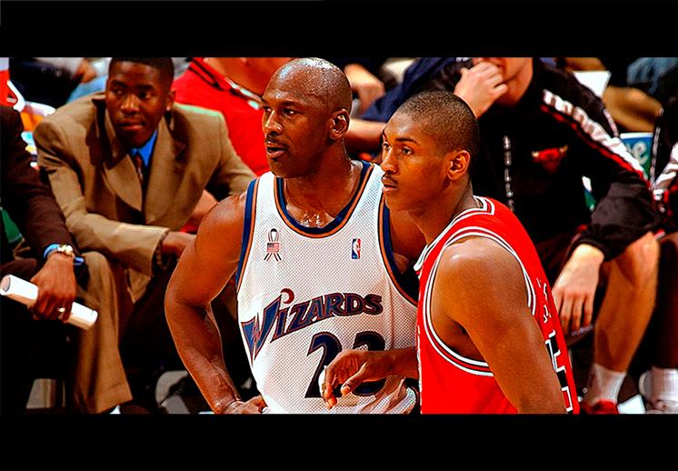 """Ron Artest y su """"accidente"""" con Michael Jordan"""