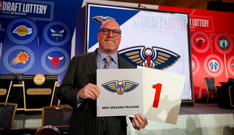 Así quedaron los puestos para Draft 2019 de la NBA