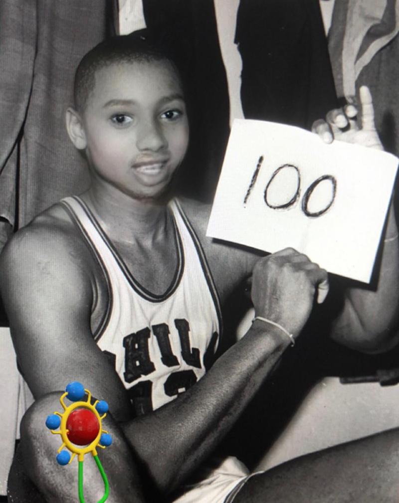 Las figuras de la NBA su versión bebé